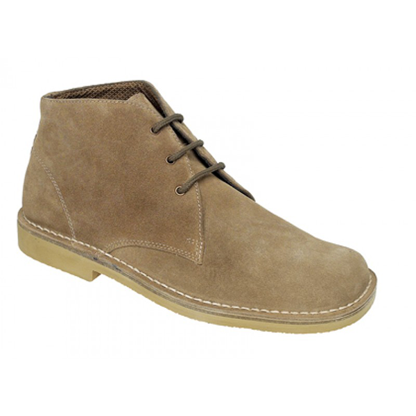 fabf0ad6952 Roamers 3 Eyelet Desert Boot - Wide Shoes Limited