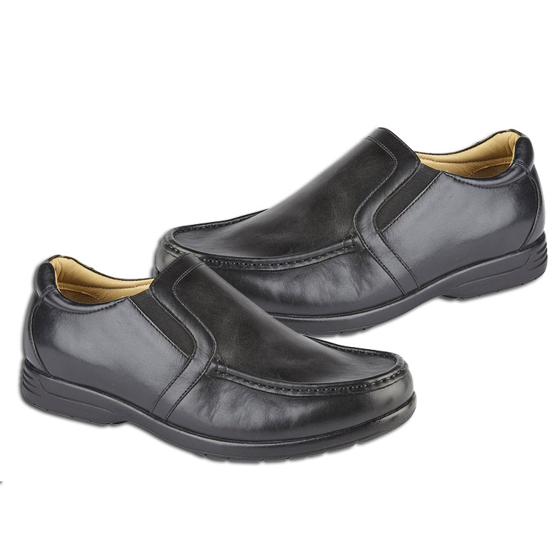 Roamers Smart Casual Slip On Wide Shoes Limited